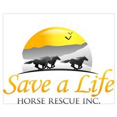 Save A Life Horse Rescue Canvas Art