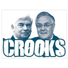 Chris and Barney Crooks Poster