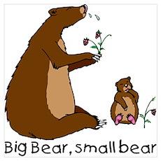 Big Bear, Small Bear Poster