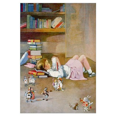 FINDING WONDERLAND Canvas Art