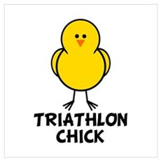Triathlon Chick Poster
