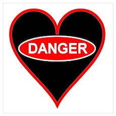 Danger Love Poster