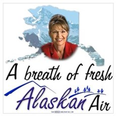 Breath of Fresh Alaskan Air Canvas Art