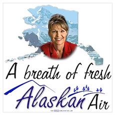 Breath of Fresh Alaskan Air Poster