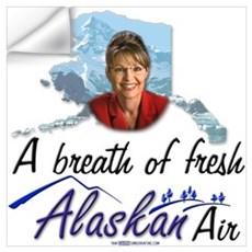 Breath of Fresh Alaskan Air Wall Decal