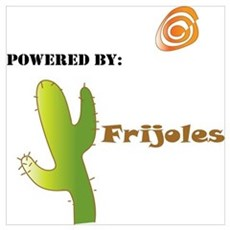 Powered by Frijoles Poster