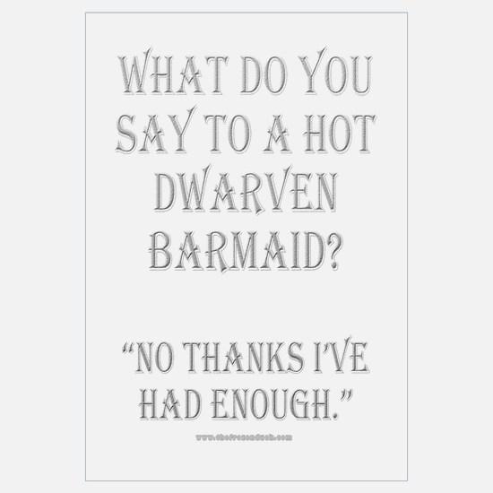 Dwarven Barmaid