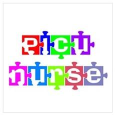 PICU Nurse Canvas Art