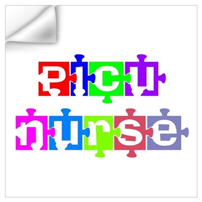 PICU Nurse Wall Decal