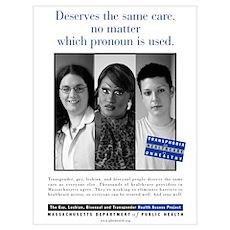 Mini Massachusets Public Health Print Poster