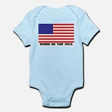 Born in the USA Infant Creeper