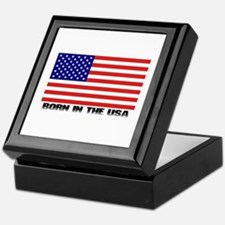 Born in the USA Keepsake Box
