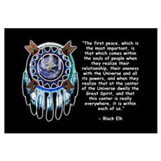 Black Elk Quote Poster