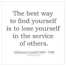 Mahatma Gandhi 24 Poster