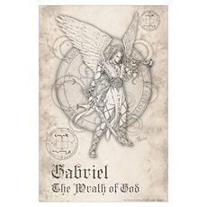 Archangel Gabriel 11x17 Poster