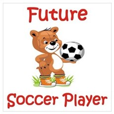 Future Soccer Player Framed Print