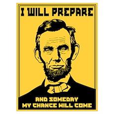 I Will Prepare Poster