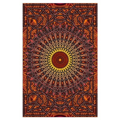 Ancient Intuitions Mandala Art Poster