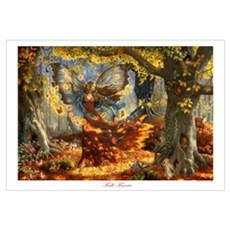 Fall Fairy Canvas Art