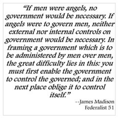 Federalist 51 Poster