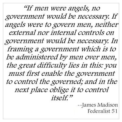 Federalist 51 Poster