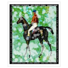 Vintage Belmont Stakes Poster