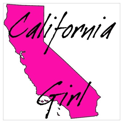 California Girl 2 Framed Print