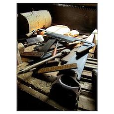 A Carpenters Tools 1 Poster
