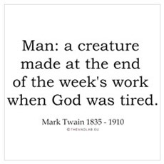 Mark Twain 7 Poster