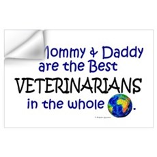 Best Veterinarians In The World Wall Decal