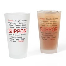 Funny Higher education Drinking Glass