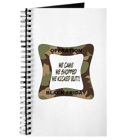 Operation Black Friday (p) Journal