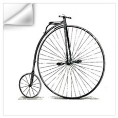 Penny Farthing Wall Decal