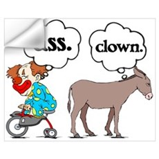 Ass Clown Wall Decal