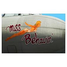Miss Behavin' Poster