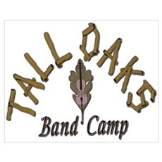 Tall Oaks Band Camp Poster