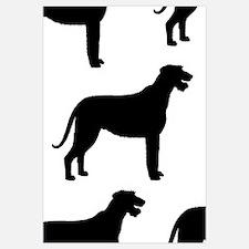 Irish Wolfhound Silhouette