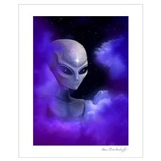 Alien Star Framed Print