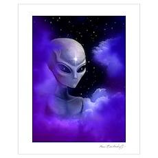 Alien Star Poster