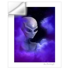 Alien Star Wall Decal