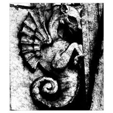 Seahorse Gargoyle Poster