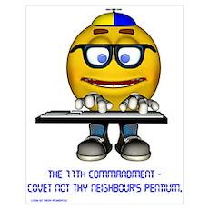 The 11th Commandment Poster