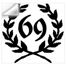69 Laurel Wall Decal