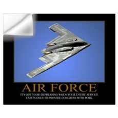 Air Force Motivational Wall Decal
