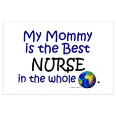 Best Nurse In The World (Mommy) Poster