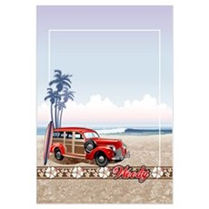 BEACHED WOODY Framed Print