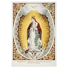 Our Lady of Guadalupe Mexican Print Framed Print