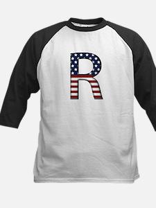 R Stars and Stripes Kids Baseball Jersey