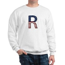 R Stars and Stripes Sweatshirt