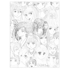 Anime Collage Poster